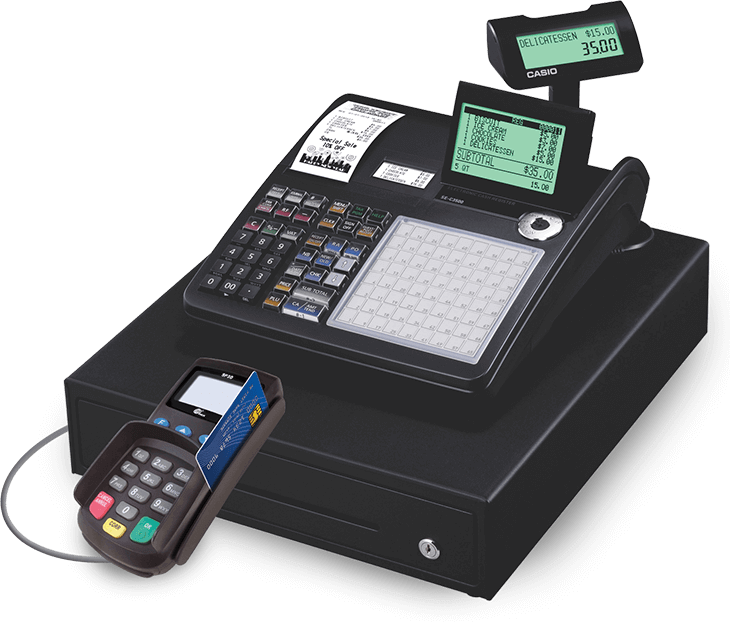 Free Cash Register with a Merchant Card Services Account