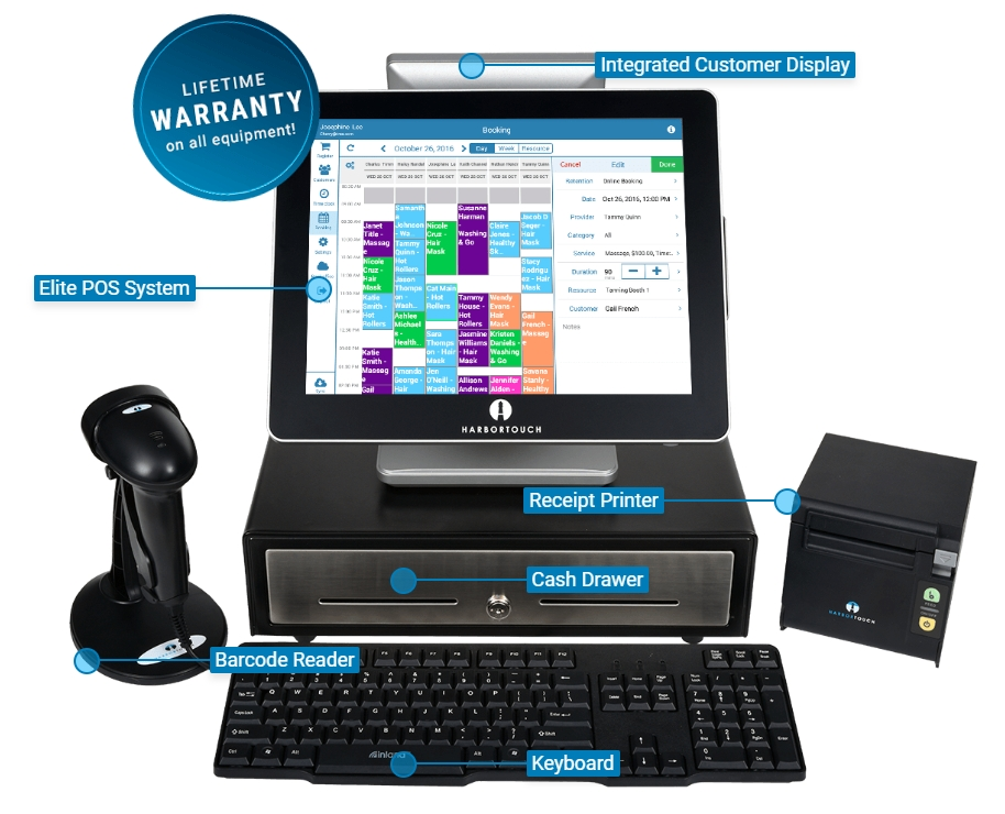 Salon Pos System Industry Specific For Salons Spas And